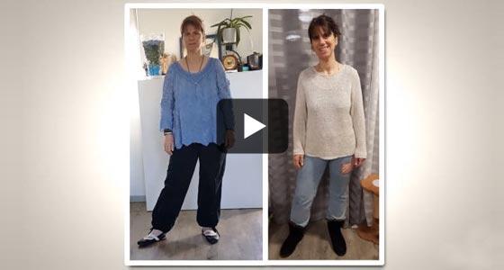 Cécile a su vaincre son blocage pour perdre ses 15 derniers kilos.