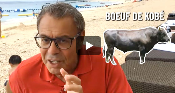 Le boeuf de Kobé : un viande vraiment très grasse à découvrir ici.