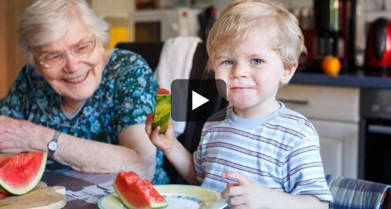 Ensemble, transmettons une alimentation santé de génération en génération