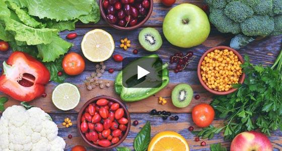 Les vitamines, ce n'est pas que dans le jus d'orange… Regardez !