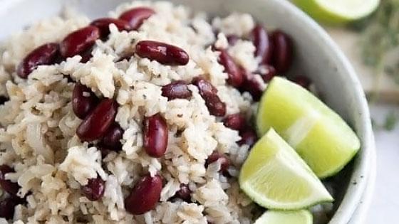 Riz et haricots rouges, une association pour des protéines de qualité