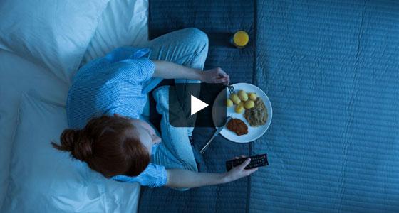 Que manger quand on finit de travailler très tard… ou très tôt ?
