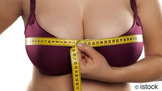 Perdre du poids sans perdre sa poitrine, c'est une question génétique.