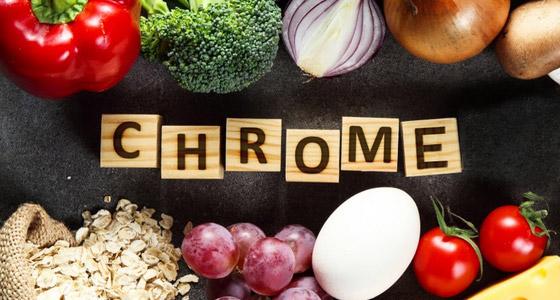 Le chrome, un oligo élément qui ne manque pas