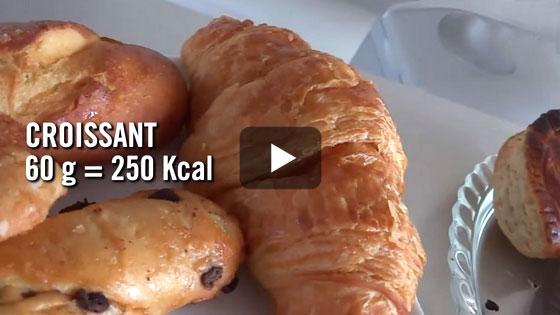 Le croissant de boulangerie fait 60 g. Et le pain au chocolat alors ?