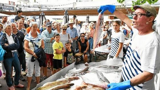 La criée ou le marché pour avoir le poisson le plus frais possible