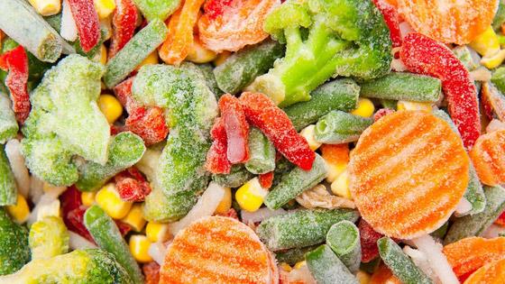 Les légumes surgelés nature valent tout à fait les légumes frais