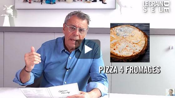 Attention à la garniture que vous choisissez sur votre pizza… Regardez !