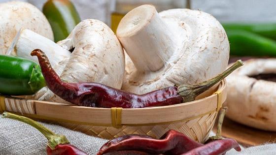 Du champignon au piment, favorisez la consommation de ces aliments aux vertus santé