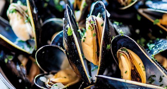 Les moules : l'aliment le plus riche en chrome après la levure de bière