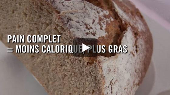 Le pain complet est plus gras que le pain blanc… Et ce n'est pas tout !