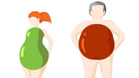 La génétique détermine la localisation de la graisse