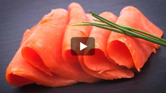 Le saumon fumé, pour une entré fine et légère